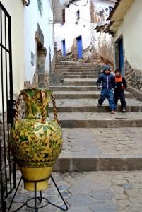 TDM famille Séchet - Cusco - San Blas 1
